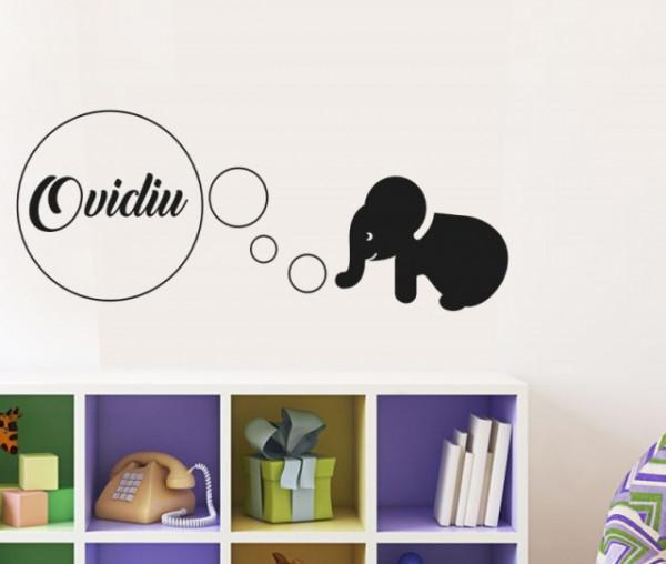 Sticker De Perete Cu Nume - Ovidiu