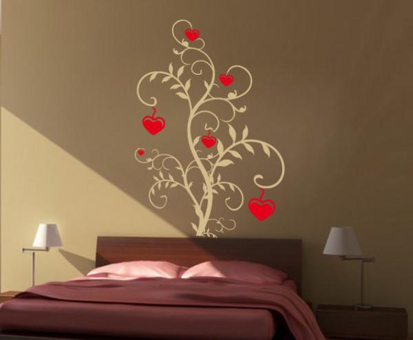 Sticker De Perete Flower Love