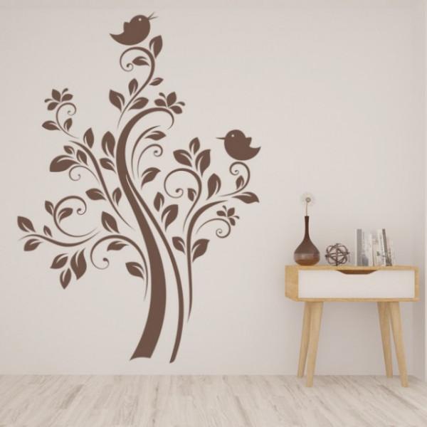 Sticker Tree Birds