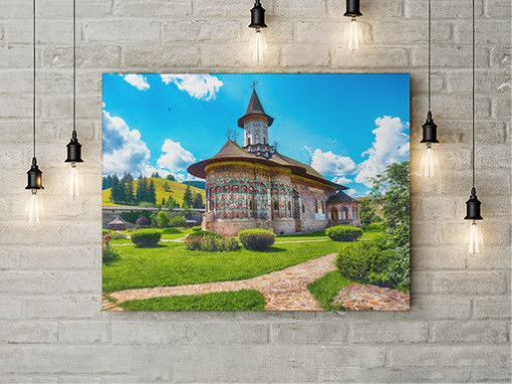 Tablou Canvas Manastire Moldova