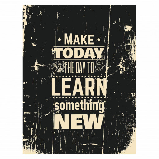 Tablou motivational - Learn something new