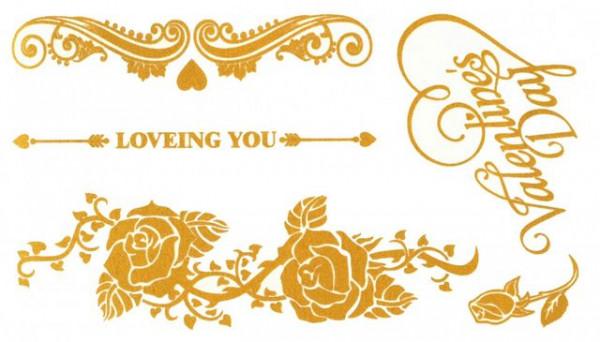 Tatuaj temporar -loveing you- 10x17cm