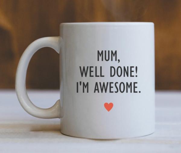 CANA Mom, well done! (HEART)