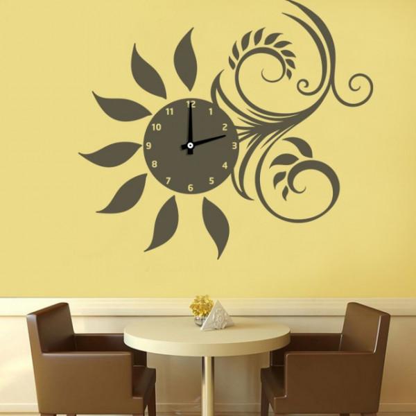 Ceas bucatarie model Floarea Soarelui