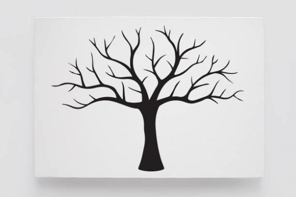 Finger print tree glow