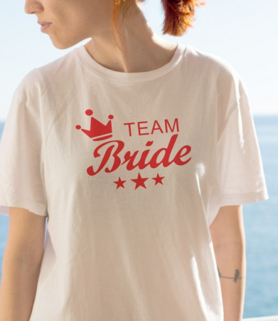 Imprimeu tricou TEAM BRIDE