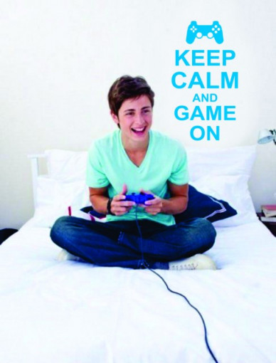 Poze Keep calm and game on