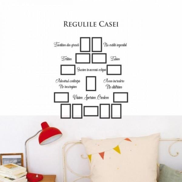 Regulile casei