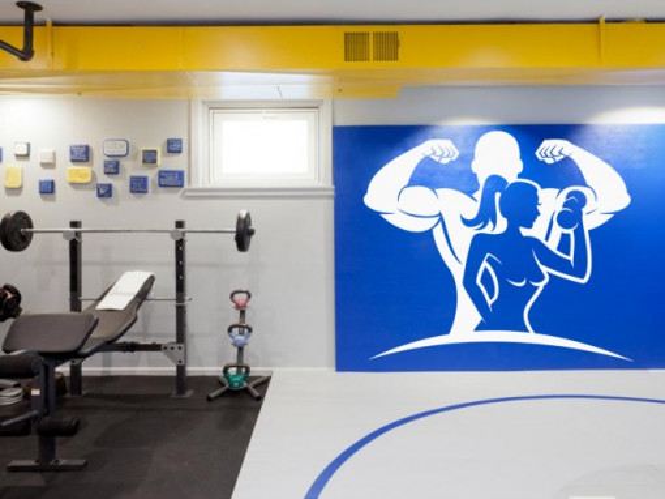 Sticker De Perete Complet Fitness