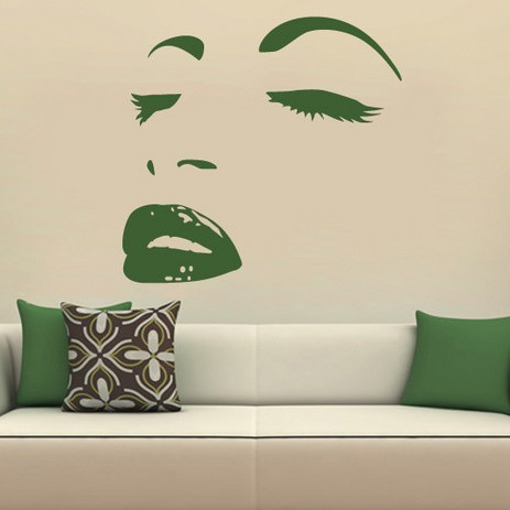 Sticker De Perete Women Face 2
