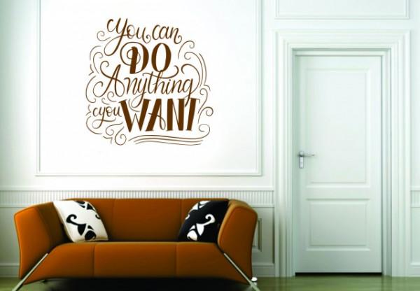 Sticker De Perete You Can Do Anything