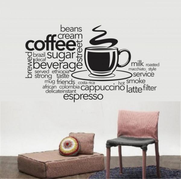 Coffee bean cream