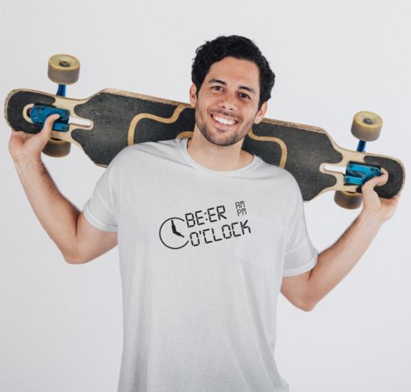 Imprimeu tricou BEER O'CLOCK