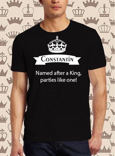 Imprimeu tricou CONSTANTIN