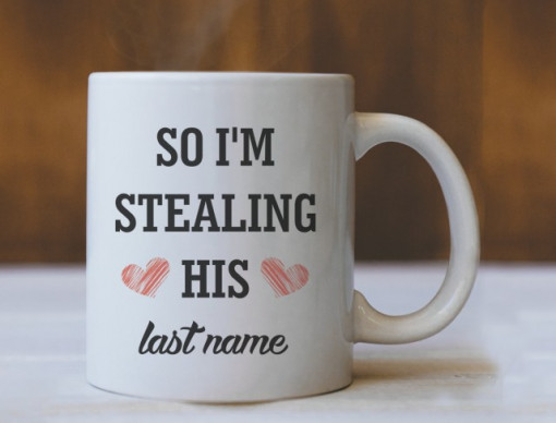 SO I'M STEALING HIS - Sketched heart