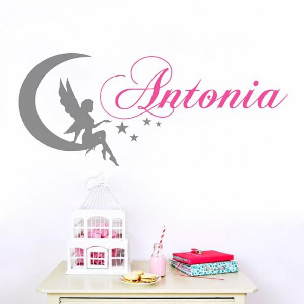 Sticker De Perete Cu Nume - Antonia