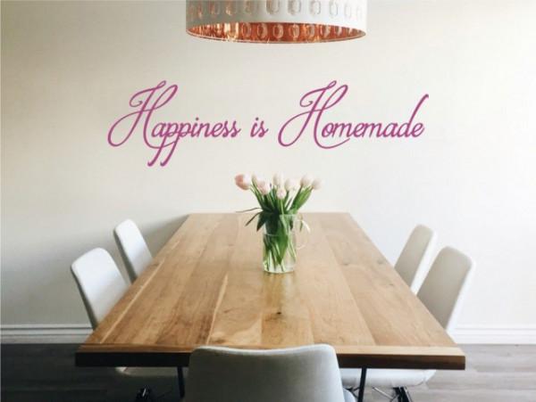 Sticker De Perete Happiness Is Homemade