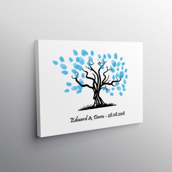 Tablou Canvas Finger Print Tree Mol
