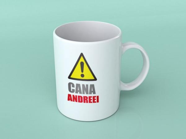 Cana Cu Mesaj Cana Andreei