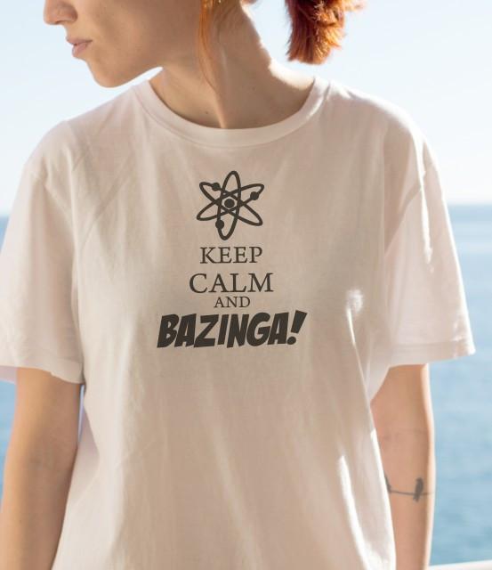 Imprimeu tricou BAZINGA!