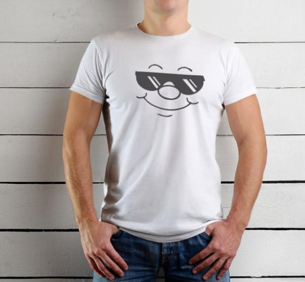 Imprimeu tricou COOL FACE
