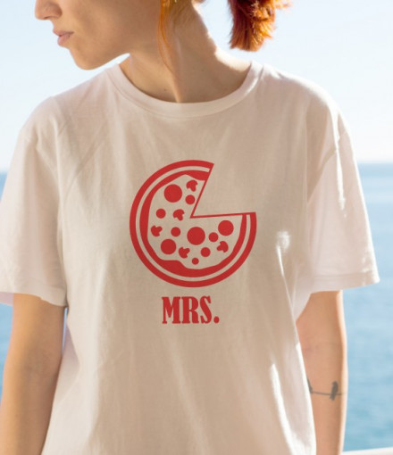 Imprimeu tricou MRS. PIZZA