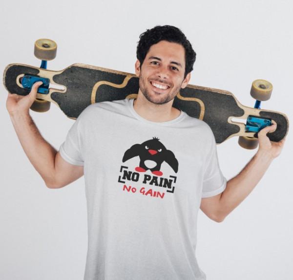 Imprimeu tricou NO PAIN NO GAIN