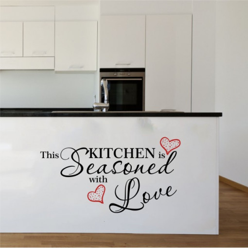 Kitchen seasoned with love
