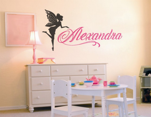 Sticker cu nume - Alexandra