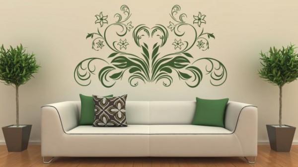 Sticker De Perete Abstract Floral 04