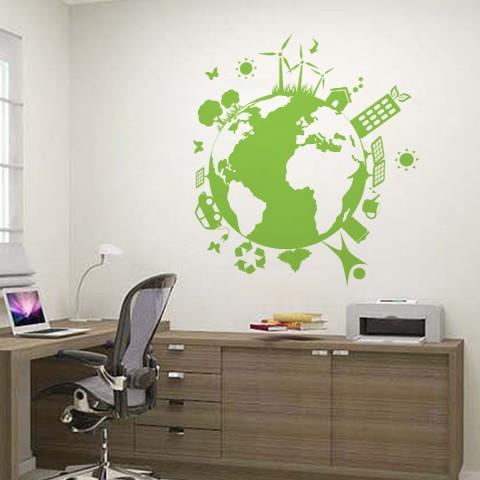 Sticker De Perete Eco