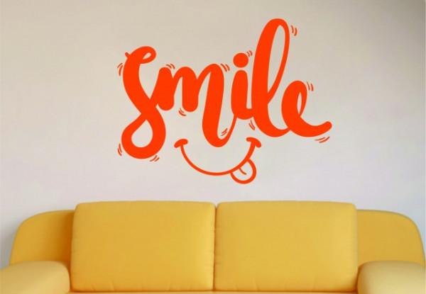 Sticker De Perete Smile
