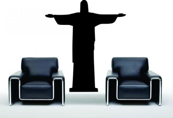 Sticker De Perete Statuia Lui Iisus