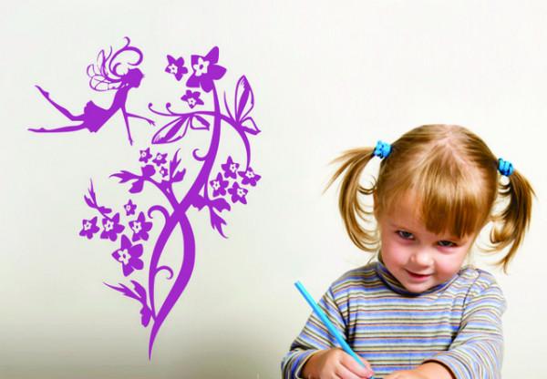 Sticker De Perete Zana Florilor