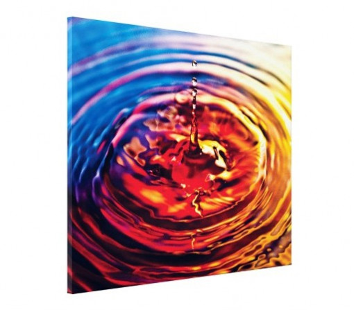 Tablou canvas - abstract picatura apa