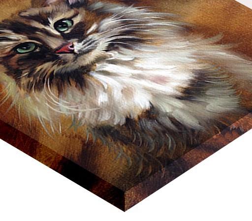 Tablou canvas efect pictura - Pisica
