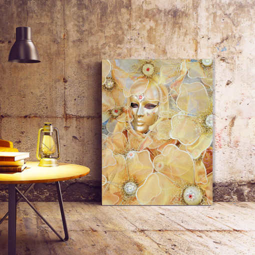 Tablou Canvas Venice Golden Lady