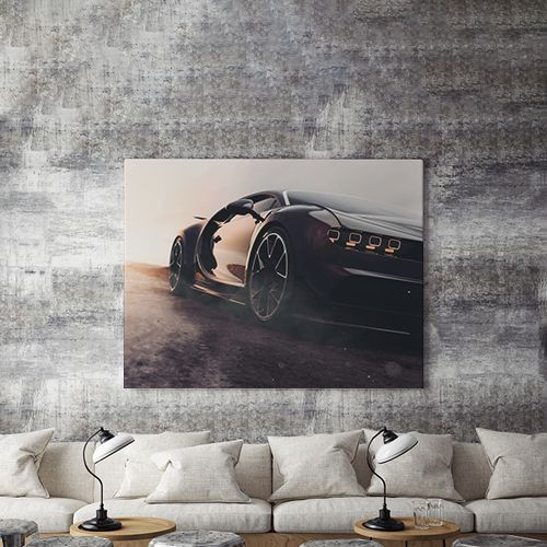 Tablou Canvas Wheels and dust