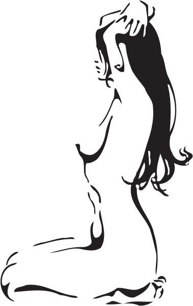 Femeie nud 4