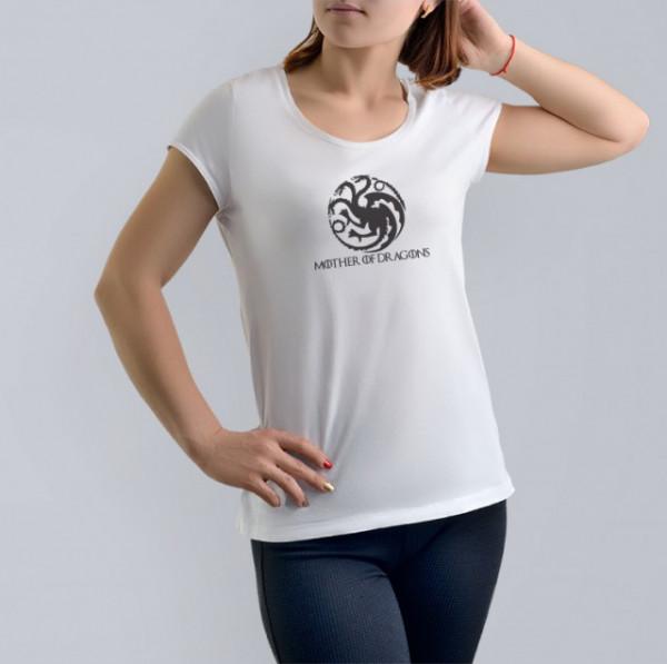 Imprimeu tricou MOTHER OF DRAGONS
