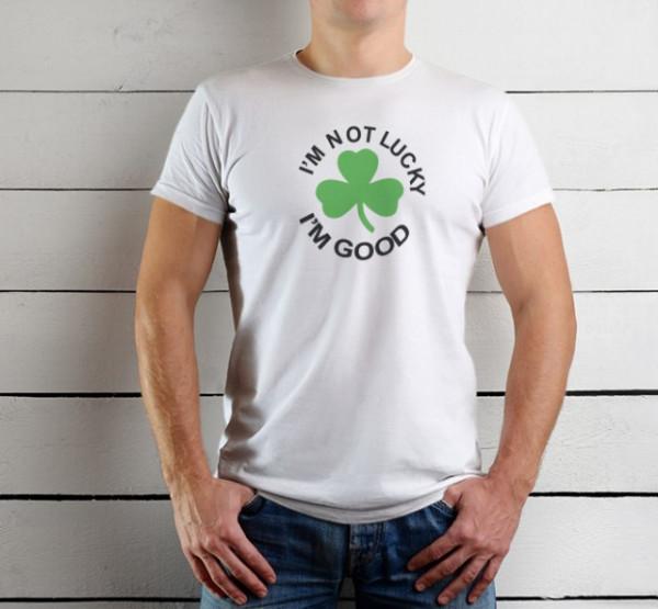 Imprimeu tricou NOT LUCKY