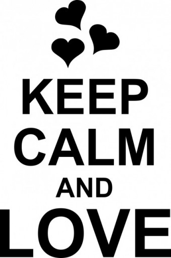 Poze Keep calm and love