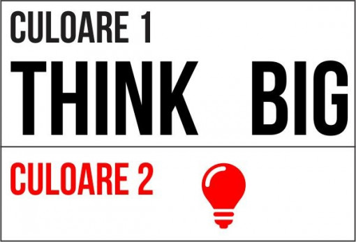 Poze Litere Think Big