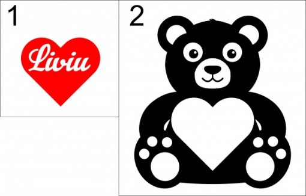 Sticker cu nume - Liviu