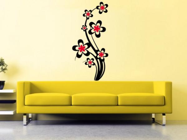 Sticker De Perete Floare De Decor