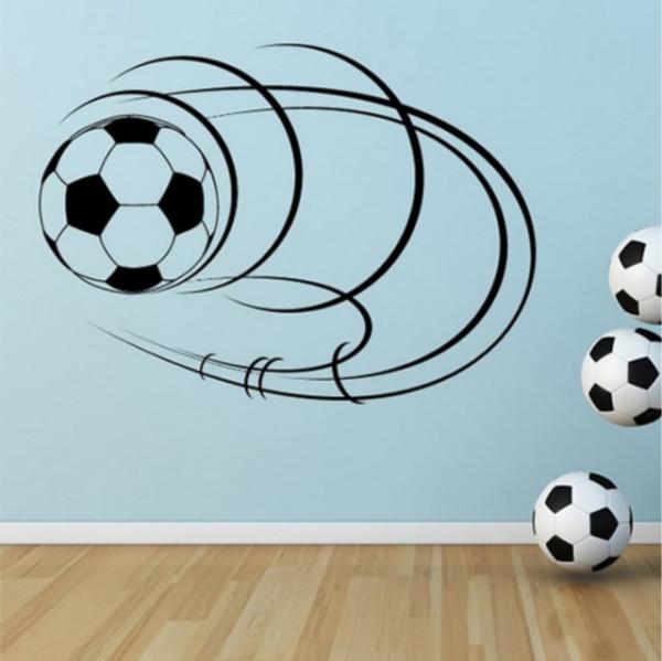 Sticker Spinning Football Ball