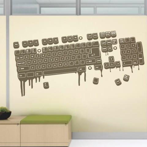 Sticker Tastatura De Perete