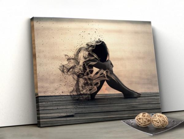 Tablou Canvas - Dezintegrare