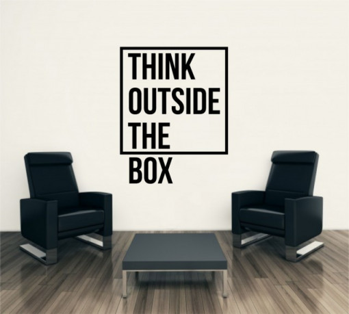 Poze Think outside the box