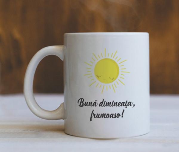 Cana Cu Mesaj - Buna Dimineata Frumoaso